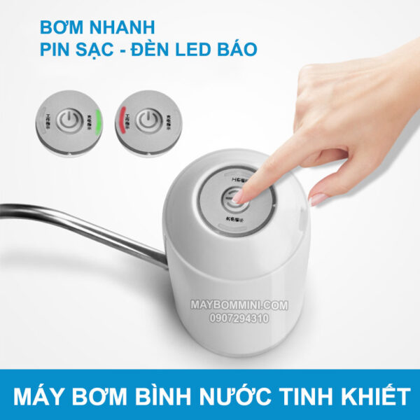 Bom Nuoc Binh Nong Lanh Tinh Khiet