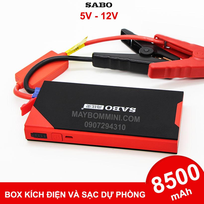 Box Kich Dien Du Phong O To Xe May 12V