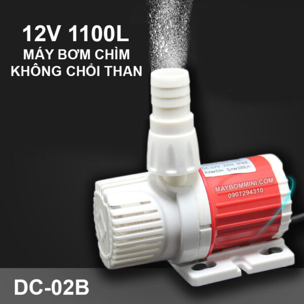 May Bom Chim 12v Khong Choi Than Dc 02b