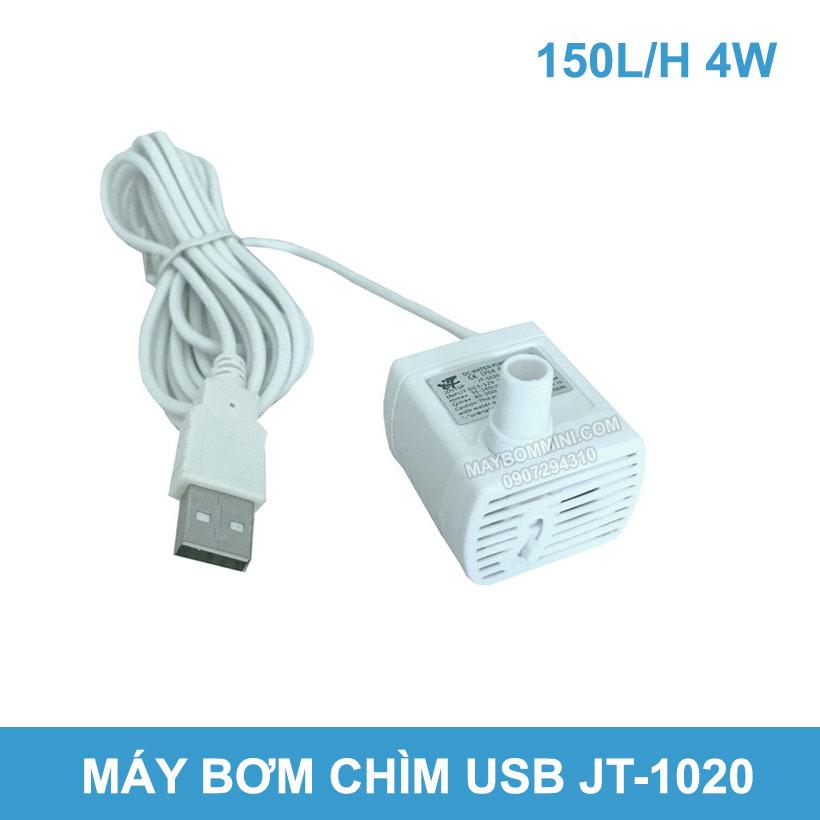 May Bom Nuoc Chim Usb JT1020