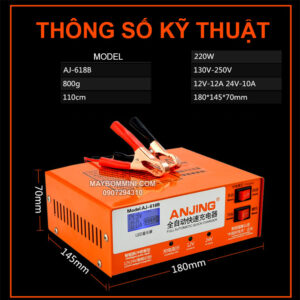 Thong So Sac Binh Ac Quy AJ 618B