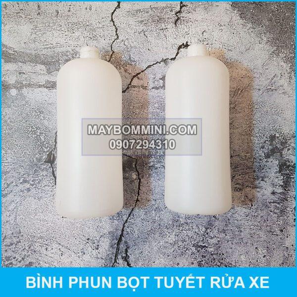 Binh Chua Bot Tuyet Rua Xe