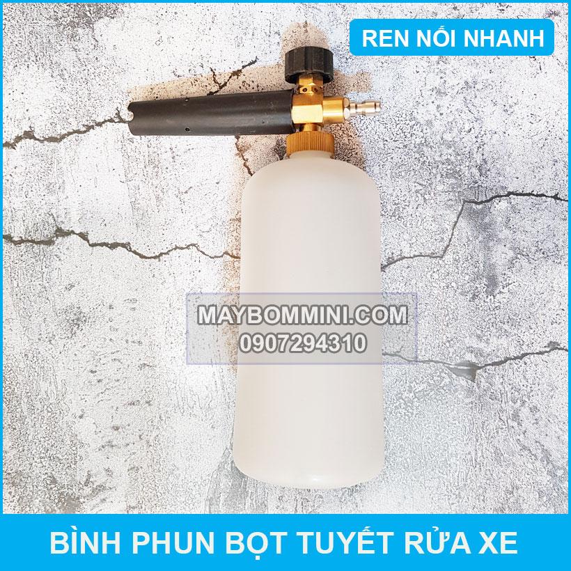 Binh Phun Bot Tuyet Rua Xe Noi Nhanh
