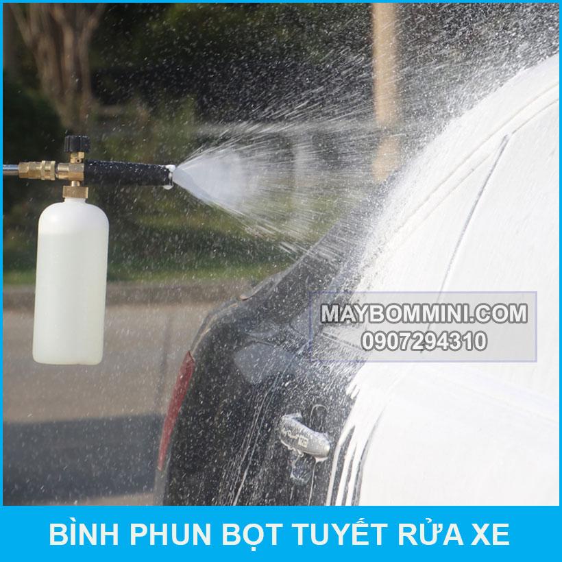 Cach Su Dung Binh Phun Tuyet