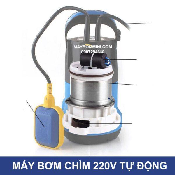 Cau Tao May Bom Chim Tu Dong 220v