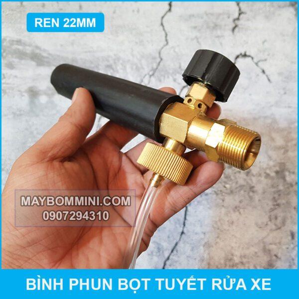 Dau Phun Bot Tuyet REN 22mm