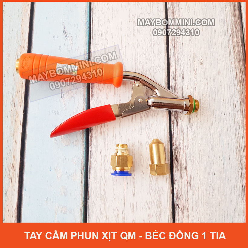 Lazada Tay Cam Phun Xit QM Bec Dong Mot Tia Gia Re