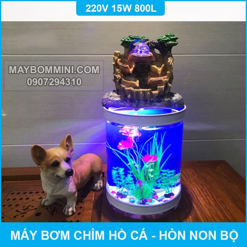 May Bom Nuoc Cho Ho Phong Thuy