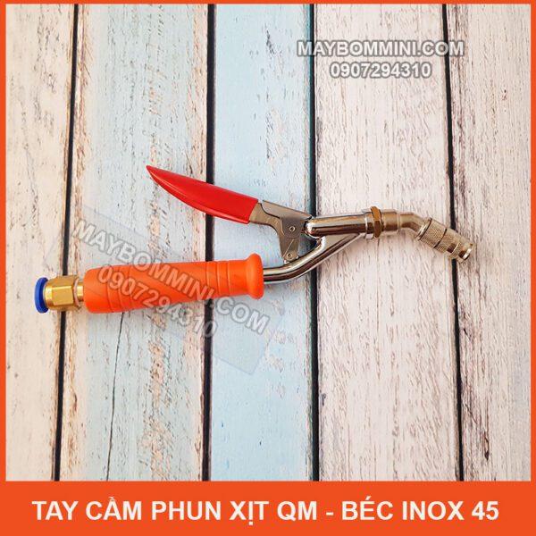 Tay Cam Phun Xit QM Bec Inox 45