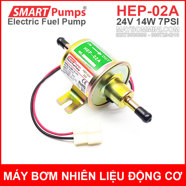 Electric Fuel Pump 24V HEP 02A Smartpumps