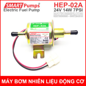 May Bom Dong Co Xang Dau 24V HEP 02A Smartpumps