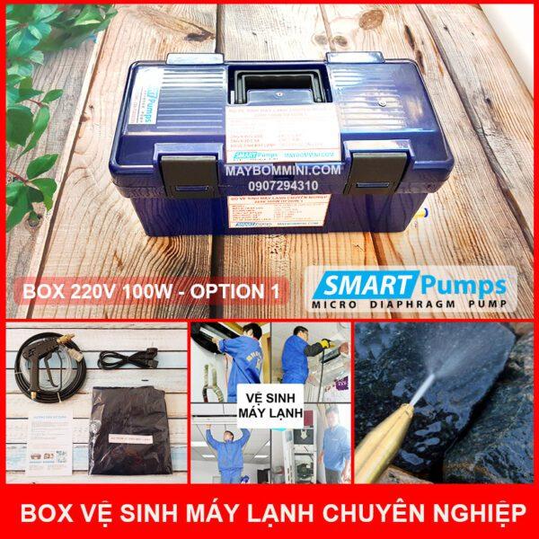 Bo Ve Sinh May Lanh Chuyen Nghiep 220v 100w