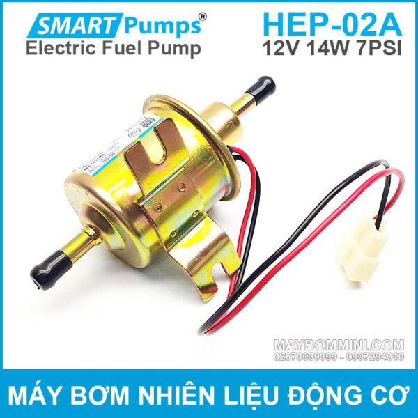 Bom Xang Dau Dong Co 12v Chinh Hang