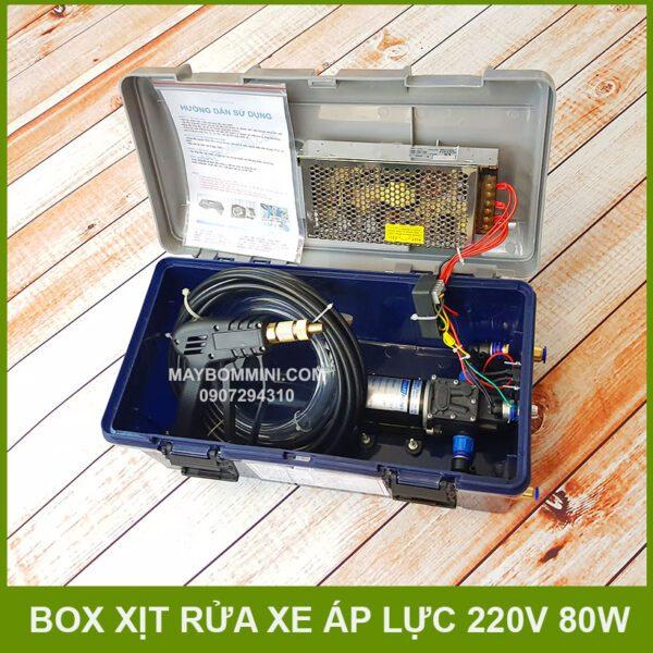 Box Xit Rua Xe Ap Luc 220v 80w Gia Re