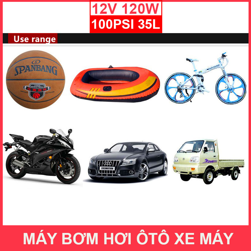 Cach Su Dung May Bom Hoi Mini 12v