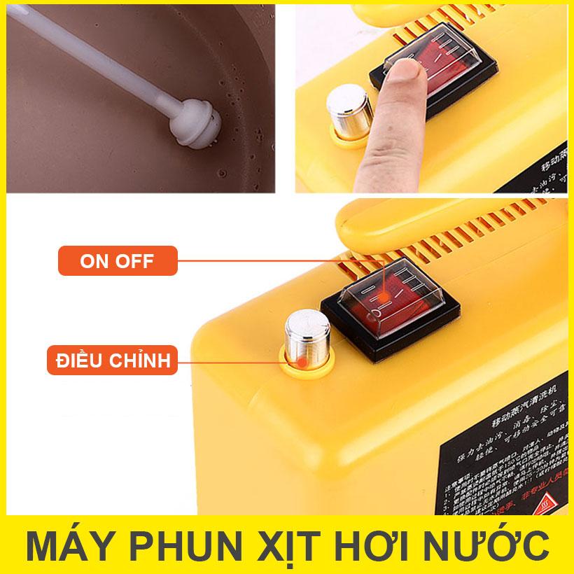 Dieu Chinh Su Dung May Phun Hoi Nuoc