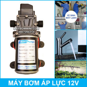 May Bom Ap Luc Mini 100W 12V