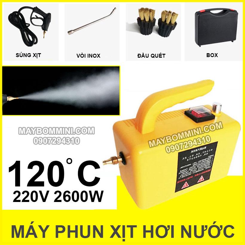 May Phun Xit Hoi Nuoc Nong 2600w 220v Gold