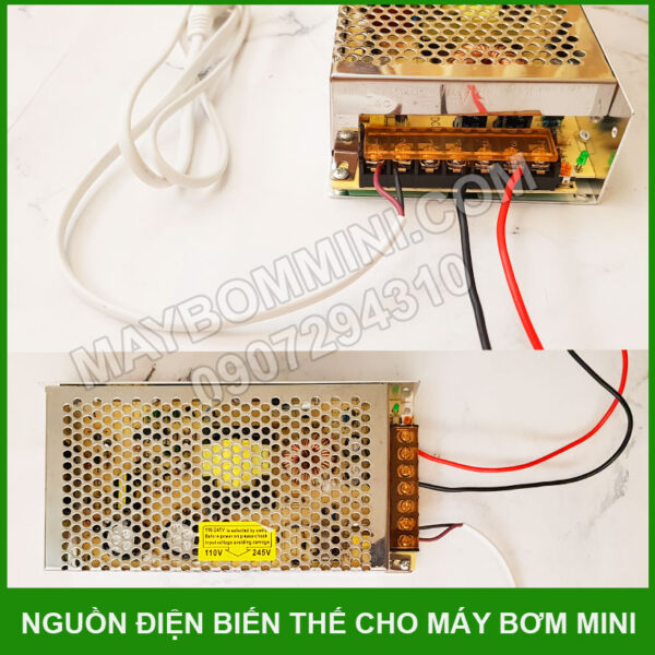 Nguon Dien Bien The May Bom Ap Luc Mini 80w