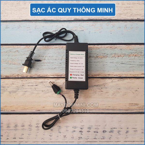 Sac Ac Quy 12v Thong Minh Tu Dong