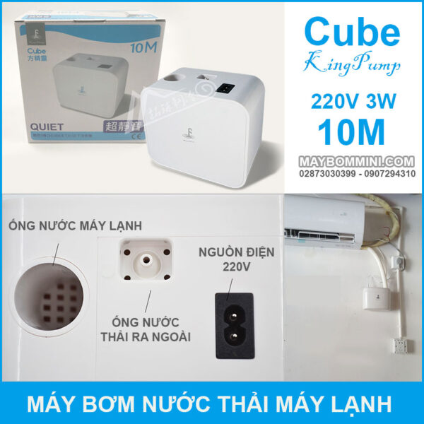Pump With Safety Switch For Air Conditioning Drainage Energy Saving
