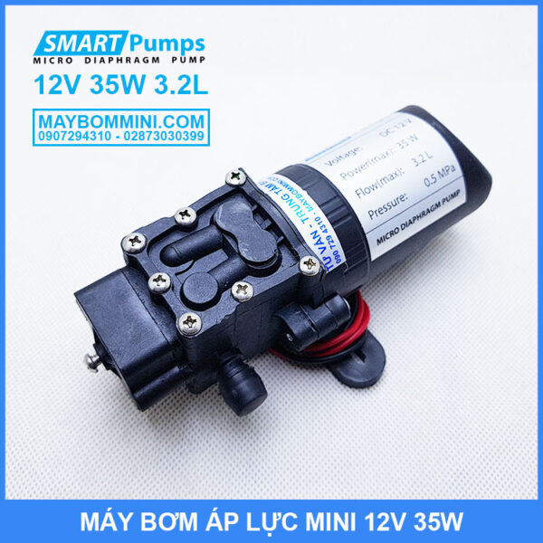 Ban Cac Loai May Bom Mini 12v 35w Gia Re