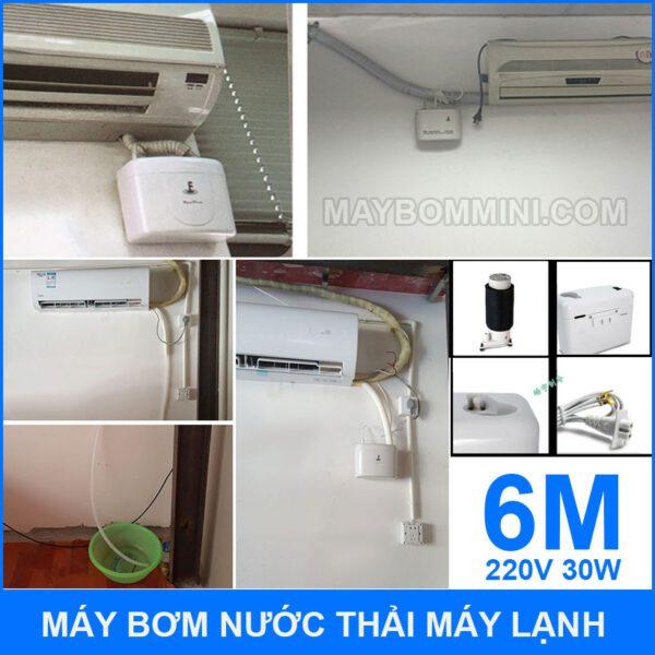 Cach Lap Dat Va Su Dung May Bom Nuoc Thai Dieu Hoa May Lanh