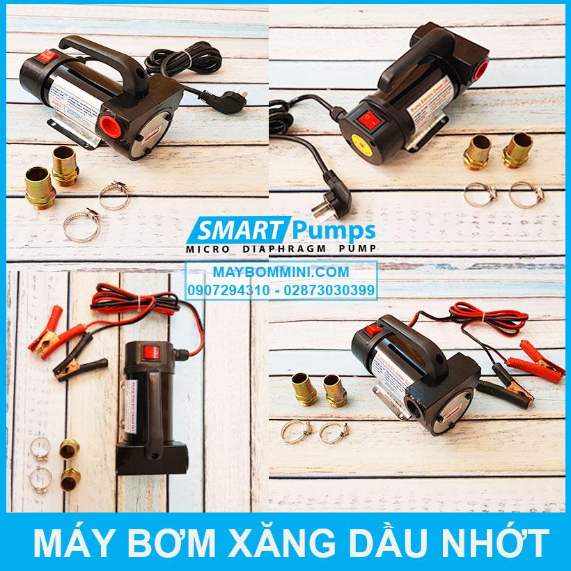 Chi Tiet May Bom Xang Dau Nhot 12v 24v 220v