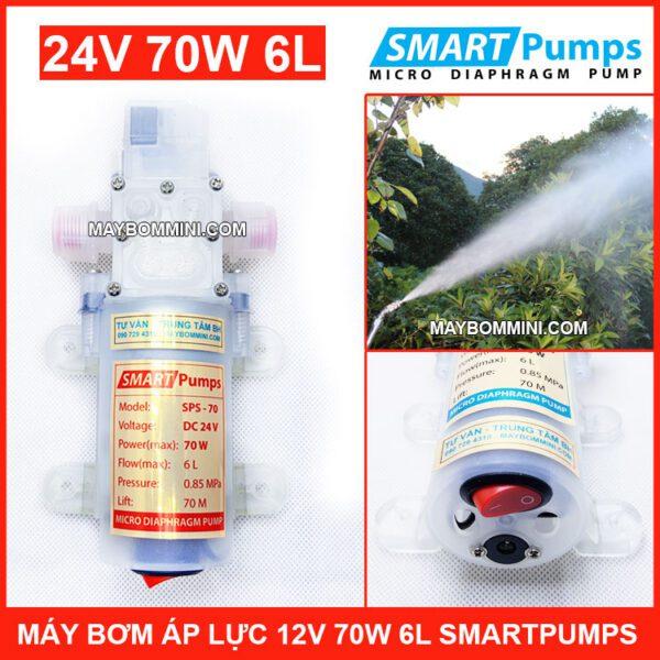 May Bom Ap Luc 24v 70w Smartpumps