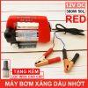 May Bom Xang Dau Nhot 12V 380W 50L Red