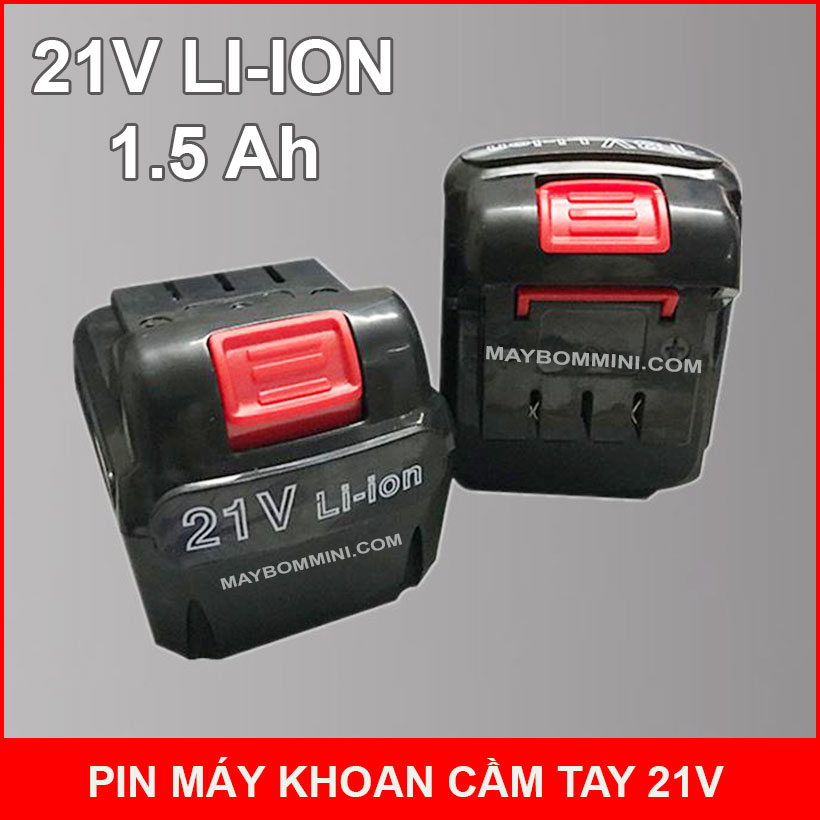 Pin May Khoan Cam Tay 21v