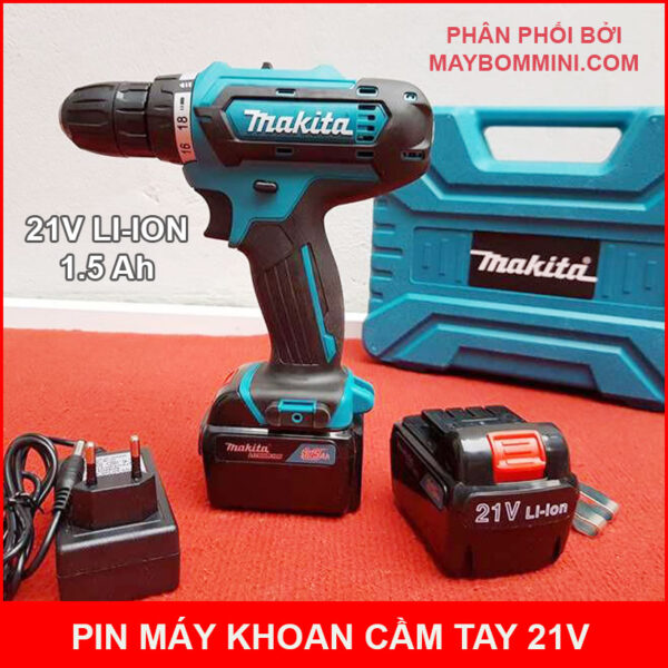 Pin May Khoan Makita 21v