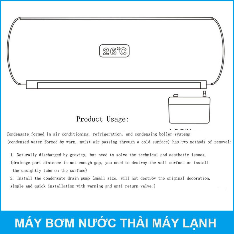 Su Dung May Bom Nuoc Thai May Dieu Hoa