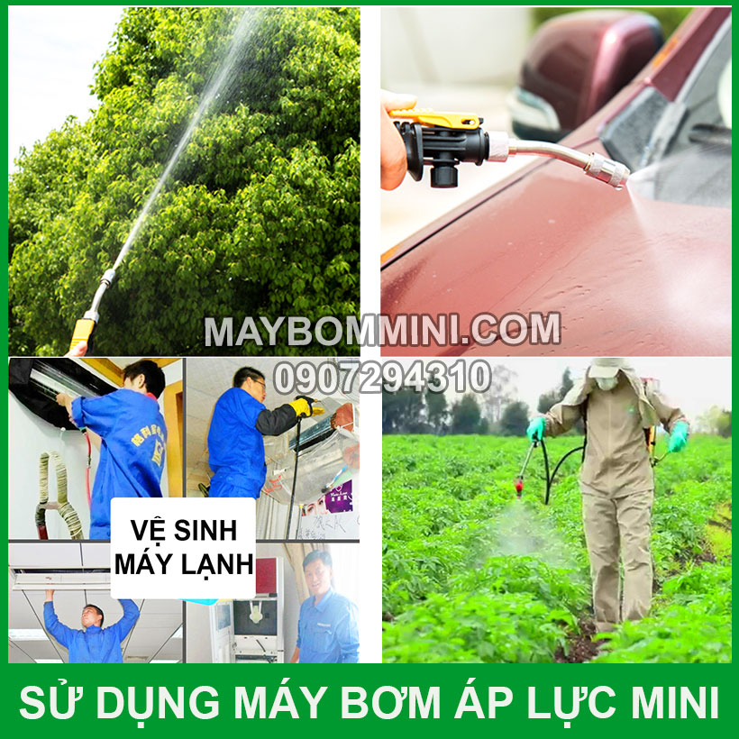 Sung Dung May Bom Ap Luc Mini12v 24v Tien Loi