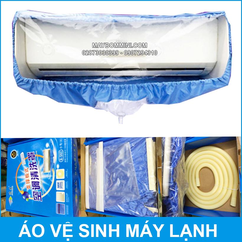 Ao Ve Sinh May Lanh Cao Cap Co Khung