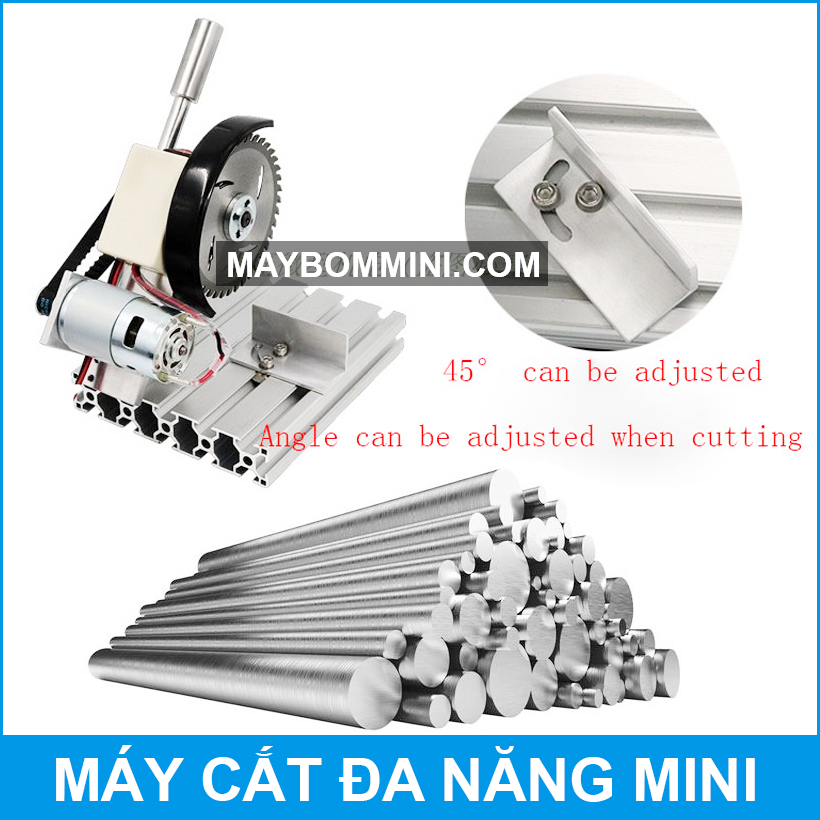 May Cat Kim Loai Mini 45 Do