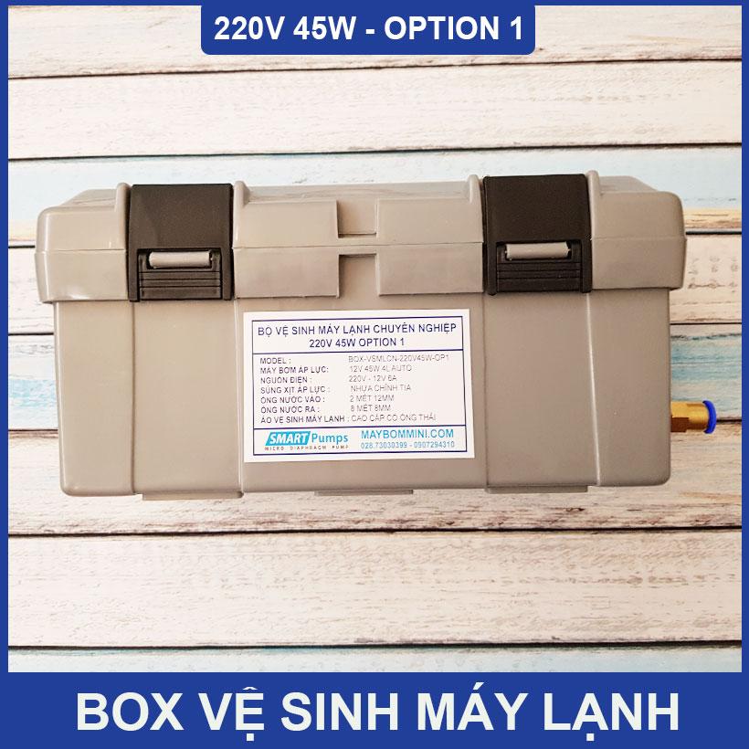 Ve Sinh May Lanh Gia Dinh 220v 45w