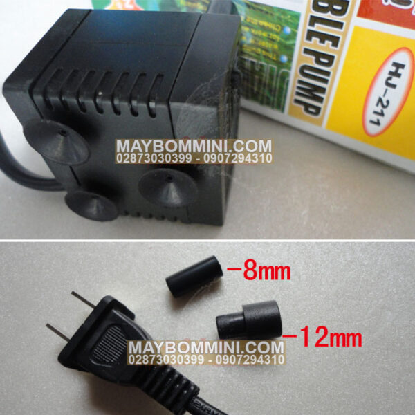 Ban May Bom Nuoc Mini 220v Ho Ca HJ 221
