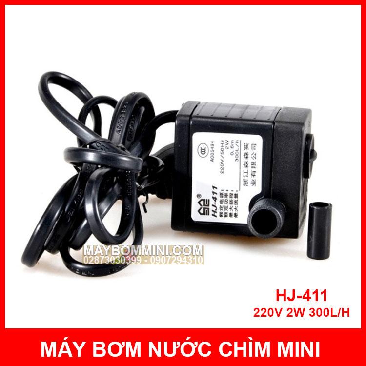 Bom Nuoc Chim Mini HJ 411