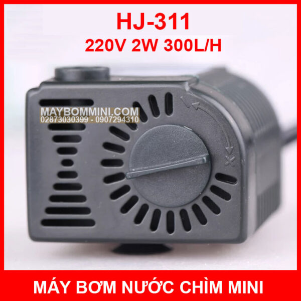 Bom Nuoc Mini Ho Ca Hon Non Bo HJ 311
