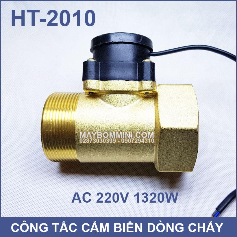 Cong Tac Cam Bien Dong Chay 220V HT 2010