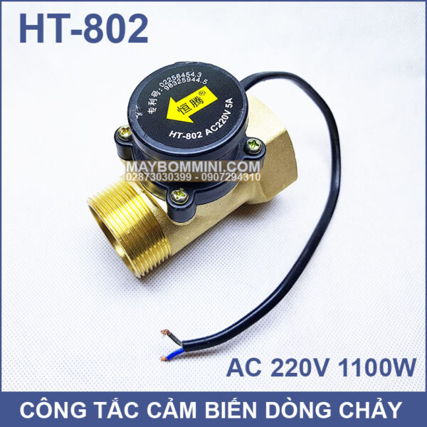 Cong Tac Cam Bien Dong Chay May Bom Nuoc HT 802