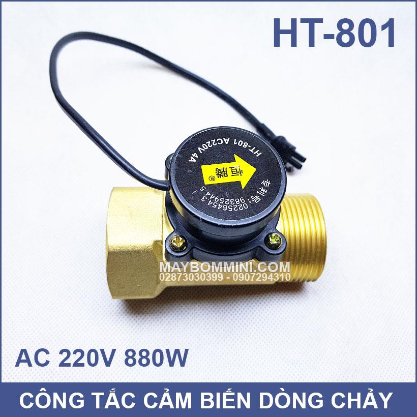 Cong Tac May Bom Nuoc Tu Dong HT 801