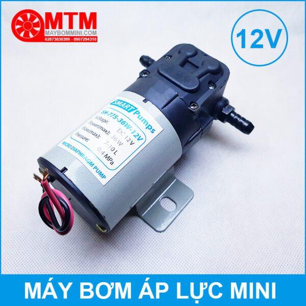 May Bom Mini 12v Ap Luc 36w 7l
