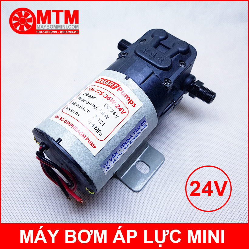 May Bom Nuoc Mini Nhat 24v
