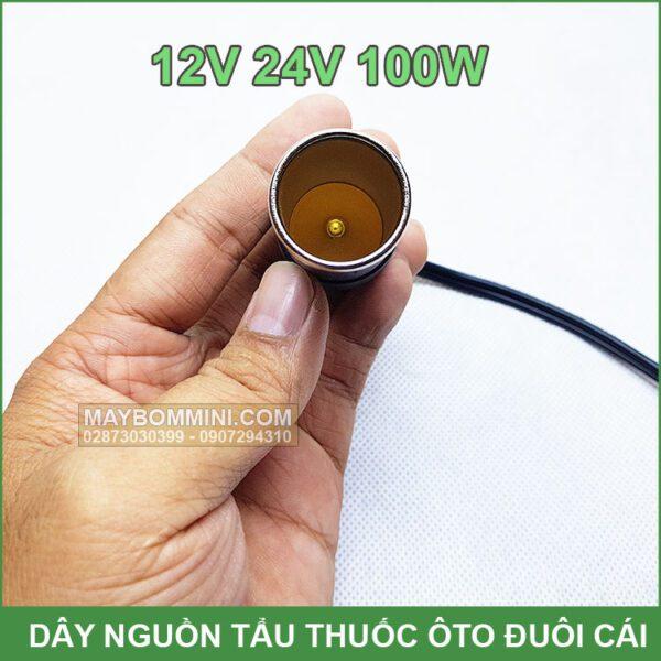Cuoi Cai Day Cam Dien Xe Oto