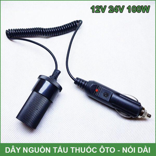 Day Nguon Tau Thuoc Oto 12v 24v
