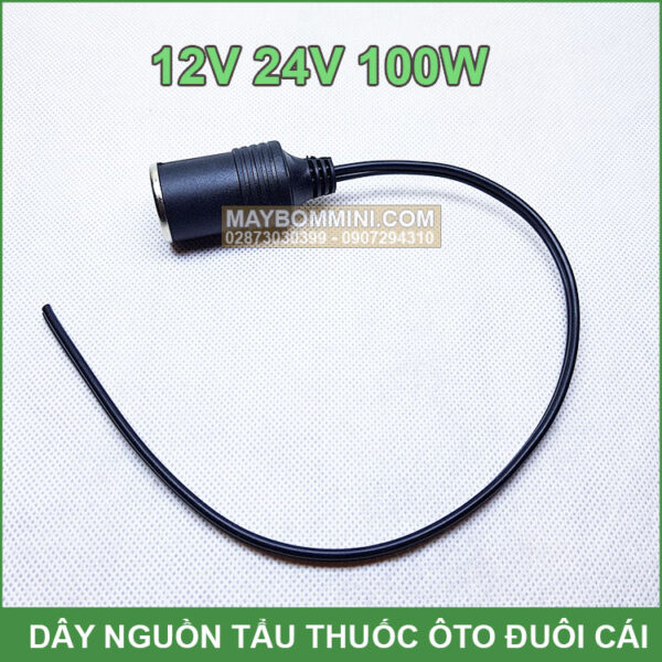 Day Tau Thuoc Oto 12v 24v