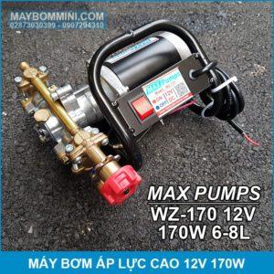 May Bom Ap Luc Cao 12V 170W 8L