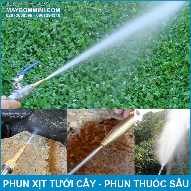 Su Dung Phun Thuoc Sau Tuoi Cay
